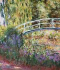 Japanese Bridge Claude Monet Print on Canvas Giclee Reproduction Painting Small