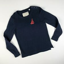 Jack Wills Knitwear Sweater Nautical Sailboat design Women's Size 8 US 12 Uk