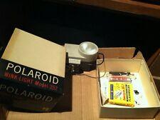 Vintage Polaroid Wink Light model 252 w/Original Box,extra bulbs & extras