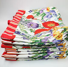 WHOLESALE NEW LOT OF 50 x ESTEE LAUDER RED FLOWER PRINT TOTE BAG