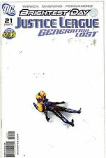 DC Comics Justice League Generation Lost #21 May 2011 Brightest Day VF+