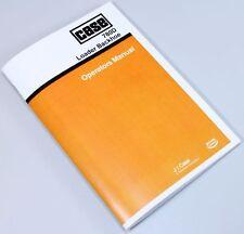 J I CASE 780D LOADER BACKHOE OPERATORS OWNERS MANUAL BOOK MAINTENANCE