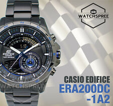 Casio Edifice Black Ion Plated Series Watch ERA200DC-1A2