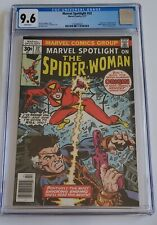 Marvel Spotlight #32 CGC 9.6 White Pages 1st Appr Spider-Woman Jessica Drew