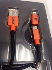 NEW OEM iPhone 6 5 S ANDROID LIGHTNING Stick Micro USB Charger Cable  MFI YATRA