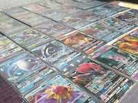 100 verschiedene Pokemon Karten mit V/GX BOOSTERFRISCH