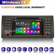 GPS Autorradios Radio For BMW 5er E39 E53 M5 DVR TDT Bluetooth CanBus iPod DAB+
