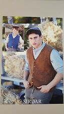 Sirdar Knitting Pattern #7394 Men's Waistcoat Vest to Knit Harrap Tweed DK Yarn
