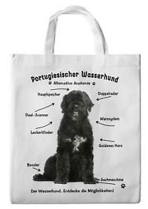 Einkaufstasche - Alternative Anatomie Hund Portugiesicher Wasserhund 01