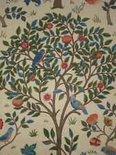 WILLIAM MORRIS CURTAIN FABRIC  KELMSCOTT TREE   4 METRES DK3511