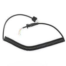 Mic Cable Micorphone Cord For Motorola Mobile Radio Mic 120 130 GM300 SM50 M1225