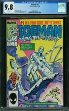 Iceman #1 CGC 9.8 Near Mint / Mint WoW @@ WoW