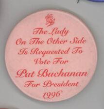 PATRICK PAT BUCHANAN President POLITICAL Mirror Republican GOP Campaign VA
