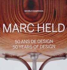 LIVRE NEUF : MARC HELD 50 ANS DE DESIGN (50 years of design)