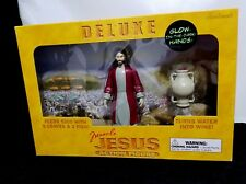 2009 Accoutrements Deluxe Miracle Jesus Action Figure w/Glow Hands! NEW!
