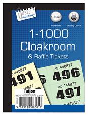 1000 EMPORIO biglietti libri Guardaroba Orologio locale sicurezza codificati premio 1 NUOVO - 8001