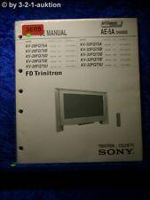 Sony Service Manual KV 28FQ75D / 32FQ75D /A /B /E /U Color TV  (#3605)