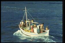 067017 Greek Fisherman Aegean Sea A4 Photo Print