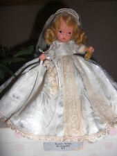 Nancy Ann Storybook Doll ~ #86 Bride w/Jointed Legs, Wrist Tag & Box