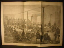 Abraham Lincoln Conspirators Trial Engraving  1865