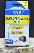 API Ammonia (NH3/NH4) Test Kit - Monitoring Ammonia Helps Prevent Fish Loss