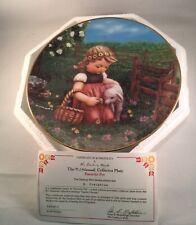 M.I. Hummel Colllectors Plate Favorite Pet Gentle Friends Danbury Mint Coa Box
