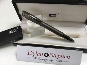 Montblanc starwalker midnight black metal fineliner pen + box