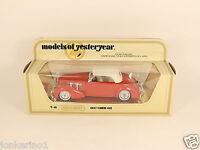 MATCHBOX MODELS OF YESTERYEAR Y-18 1937 CORD 812 - 1978 LESNEY NI[OG3-005]