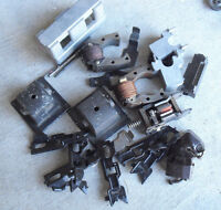 Lot of Vintage O Scale Metal Locomotive Engine Parts LOOK
