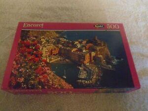 Encore! 500 Piece Puzzle Italian Riviera New Sealed 06052