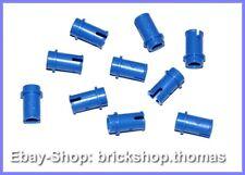 Lego Technic 10 x Verbinder blau - 4274 - Connector Pins Blue NEU / NEW