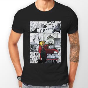 Full Metal Alchemist Brotherhood Elric FMA Anime Tshirt T-Shirt Tee ALL SIZES