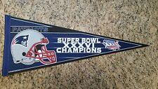 "New England Patriots Super Bowl XXXVI (36) Pennant 12""x30"""