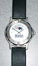 Beautiful Men's New England Patriots Official NFL Stainless Steel Watch in EC!