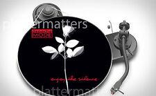 """LTD Edition Depeche Mode Enjoy The Silence 7"""" ou 12"""" pouces pour Platine Platter Mat"""