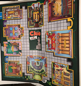 Board Game The Simpsons Clue Replacement Game Pieces 2nd Edition Board Only