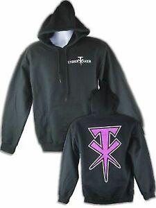 Undertaker Purple TX Logo Pullover Hoody Black Sweatshirt