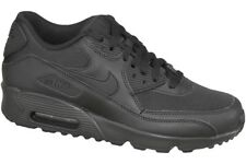 free shipping 70cec 67b7e Nike Air Max 90 Mesh GS Shoes Black Trainers 833418-001 Classic Skyline UK 3