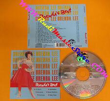 CD BRENDA LEE Brenda's Best 1988 Europe WORLD STAR CD 99043  no lp mc dvd (CS5)