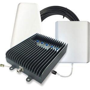 Surecall Fusion5S 5-Band Manually Adjustable Signal Booster Kit - Yagi / Panel