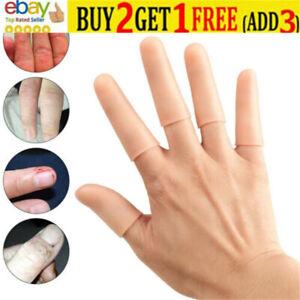 Finger Cot Gel Finger Protector Fingers Brace Support Gloves Waterproof QN18 sr