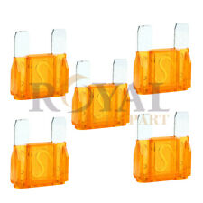 5 Pack of 40 Amp 40A Large Blade Style Audio Maxi Fuse for Car  SUV 12v