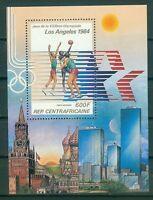 Zentralafrikanische Republik Block 192 A  , ** , Olympische Spiele 1984