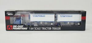 DCP WESTERN DISTRIBUTING PUP TRAILERS #33493 1/64 SCALE DIE CAST PROMOTIONS