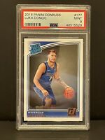 2018 Panini Donruss Luka Doncic Rated Rookie #177 PSA 9 Mint 🔥🔥🔥