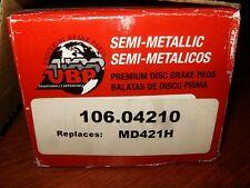 Silverline Disc Brake Pad Set Front MD421H 106.04210 Taurus/Sable