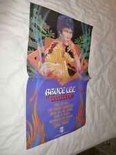 Bruce Lee Poster 1985 Video Store Chuck Norris Game Of Death Fists Of Fury