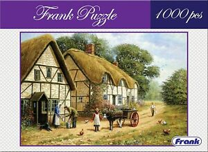 Colorful Picture Jigsaw Puzzle Set (1000 Pieces) -Countryside For 14 Years & Up