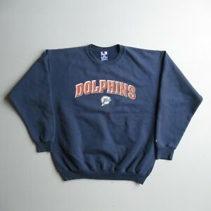 Vintage Champion Miami Dolphins Sweatshirt faded Worn Skate