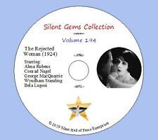 """DVD """"The Rejected Woman"""" (1924) Alma Rubens, Bela Lugosi, Classic Silent Drama"""
